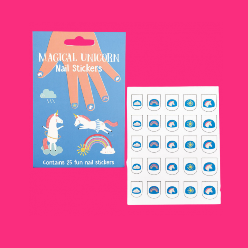 Unicorn nagelstickers