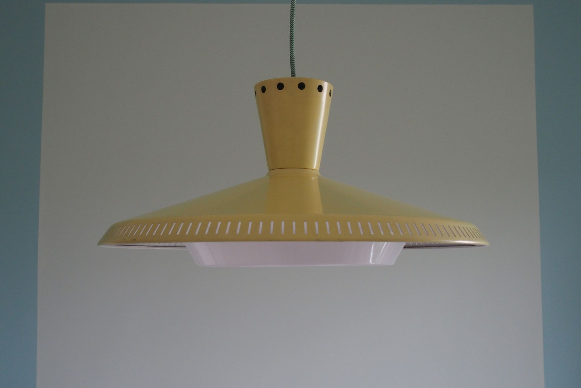 Original Vintage Ceiling Lamp Design NB93 E/00 Louis Kalff 1950