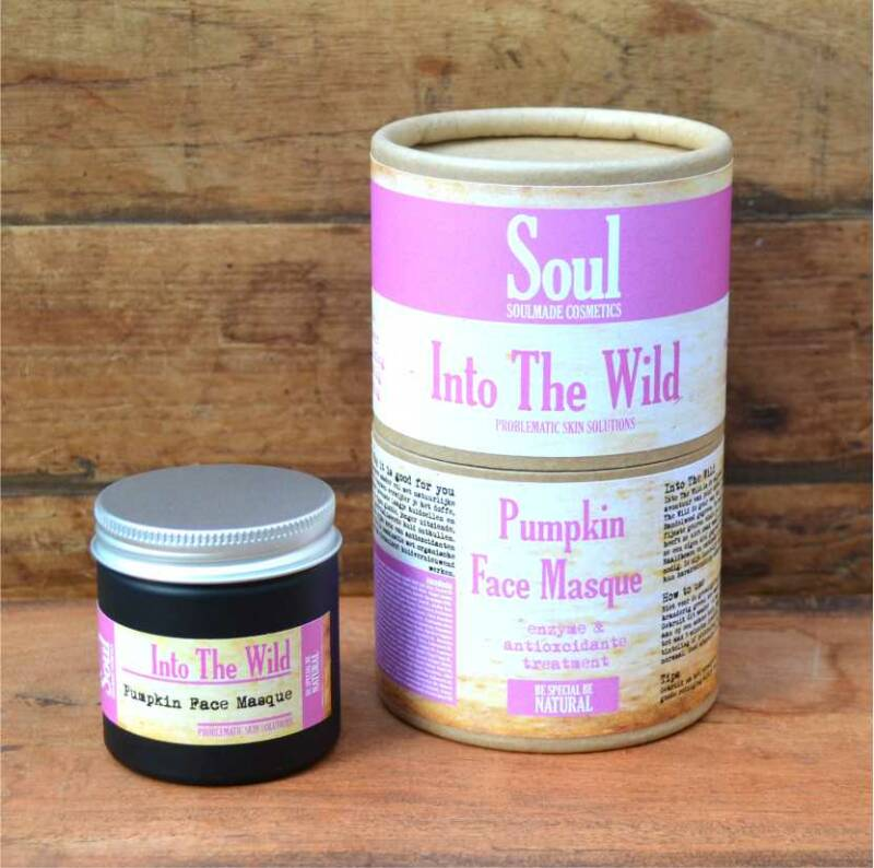 Into The Wild - Pumpkin Face Masque