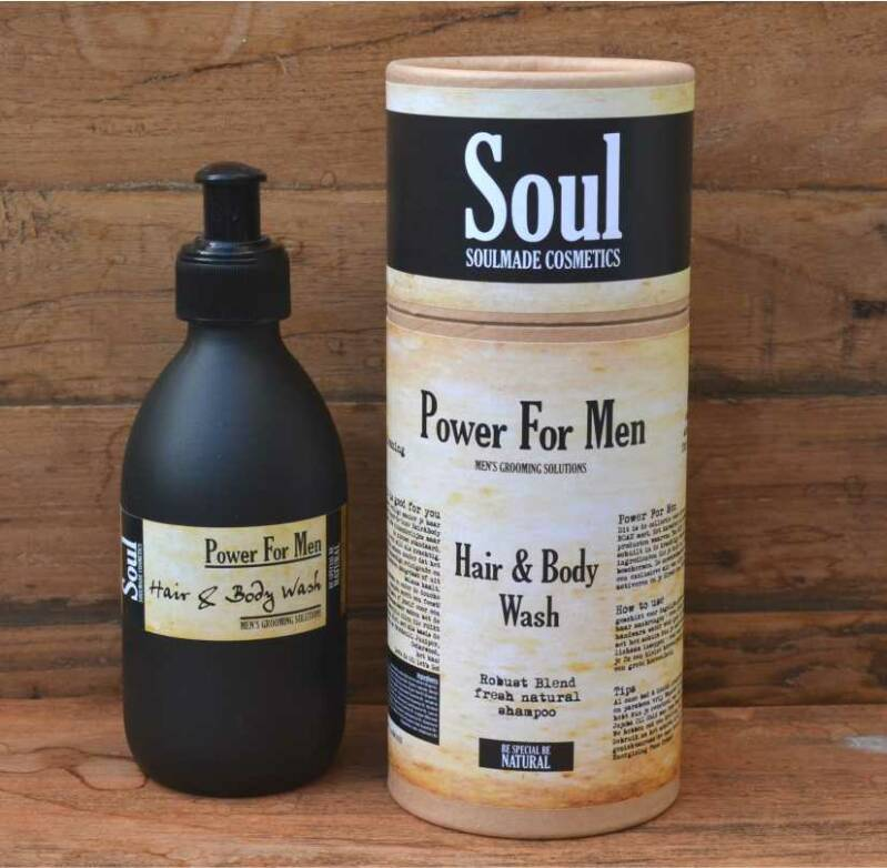 Power For Men - Hair & Body Wash