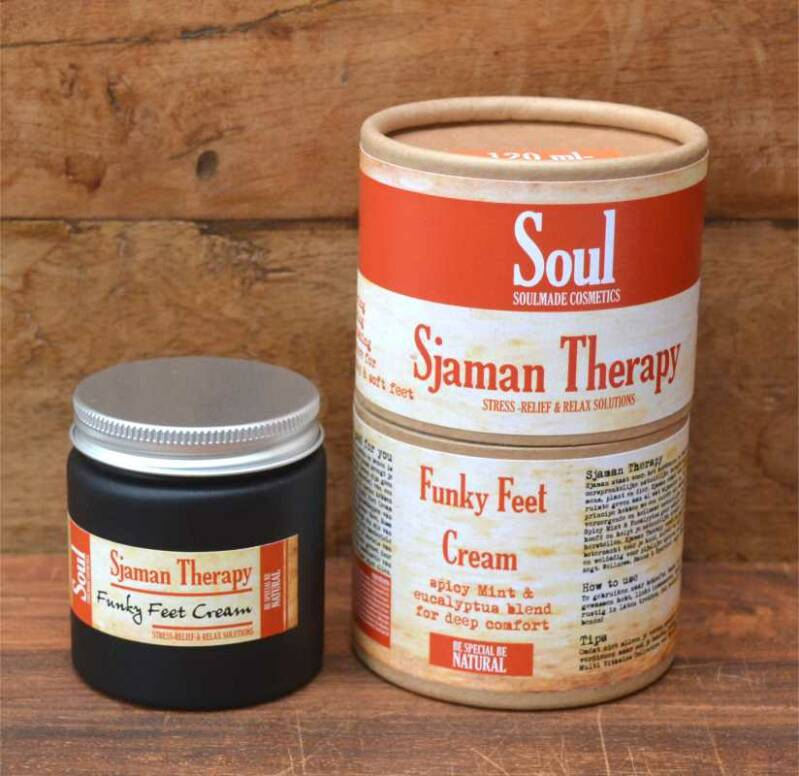 Sjaman Therapy - Funky Feet Cream