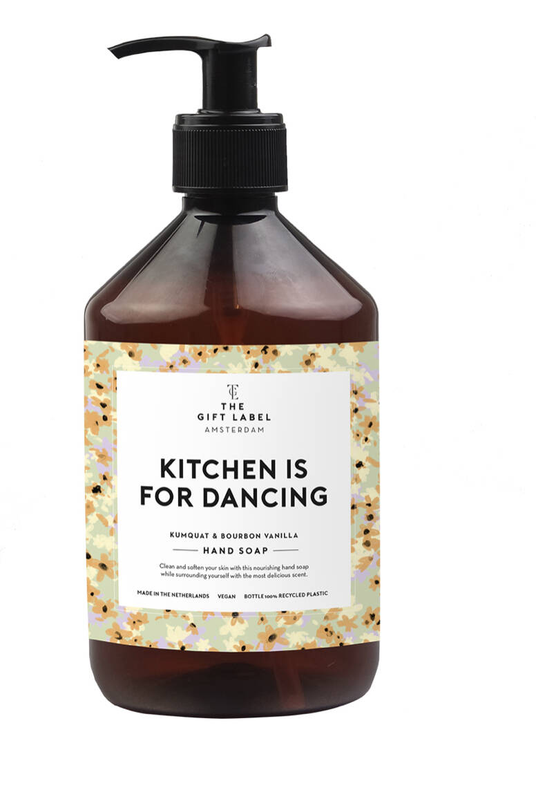 Handsoap Kitchen is for Dancing