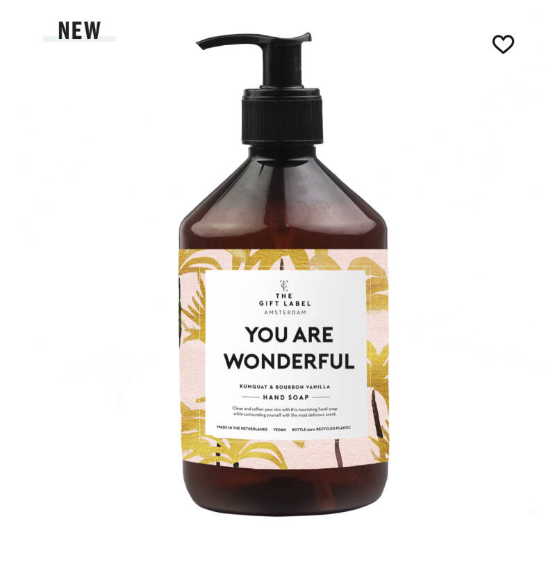 Handsoap You are Wonderful