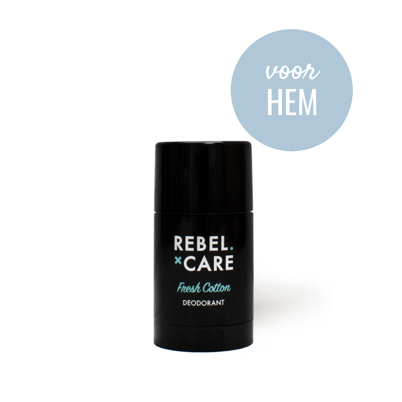 Deo Rebel Fresh Cotton