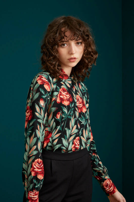 KING LOUIE BLOUSE FLORENCE