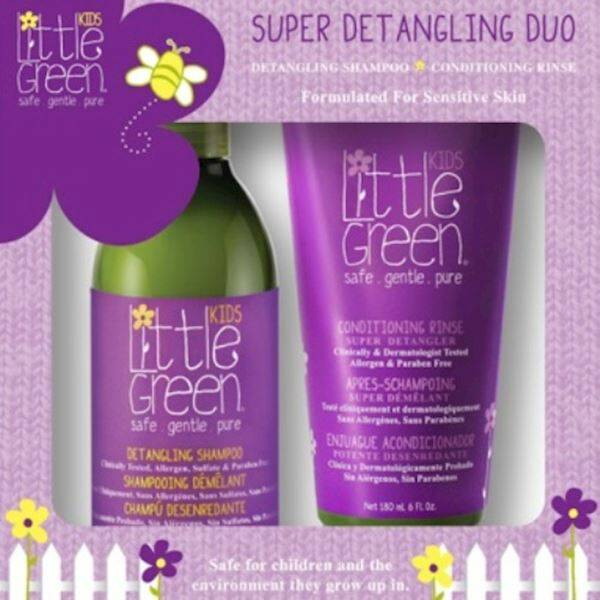 LITTLE GREEN KIDS GIFTSET (DETANGLER)