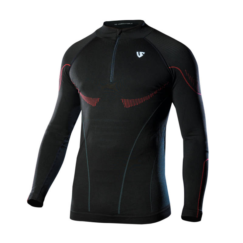 UNDER SHIELD Here Long Sleeve met rits - Warm