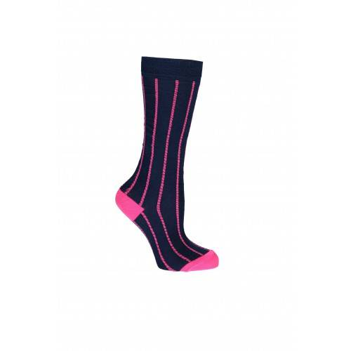 B Nosy Socks Neon With Stripes