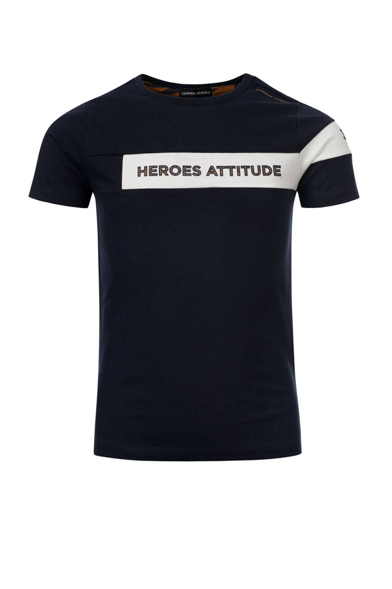 Common Heroes TIM T-Shirt Navy