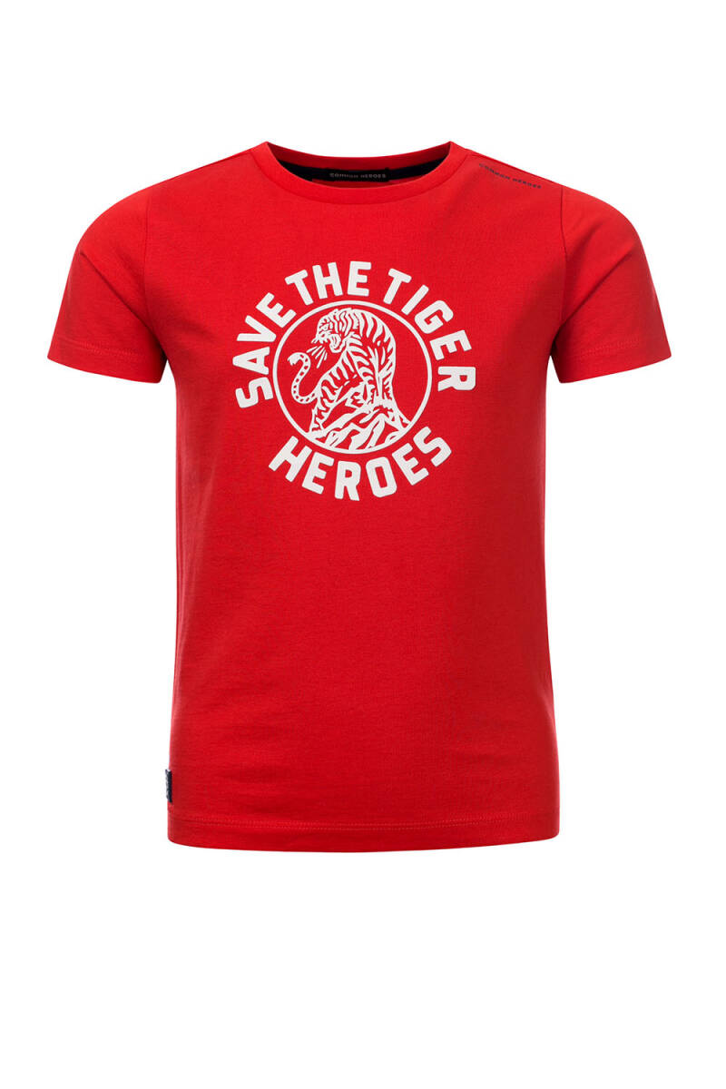 Common Heroes TIM T-Shirt  Red