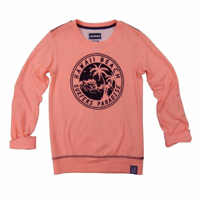 Legends22 Sweater Hawaii Soft Coral Neon