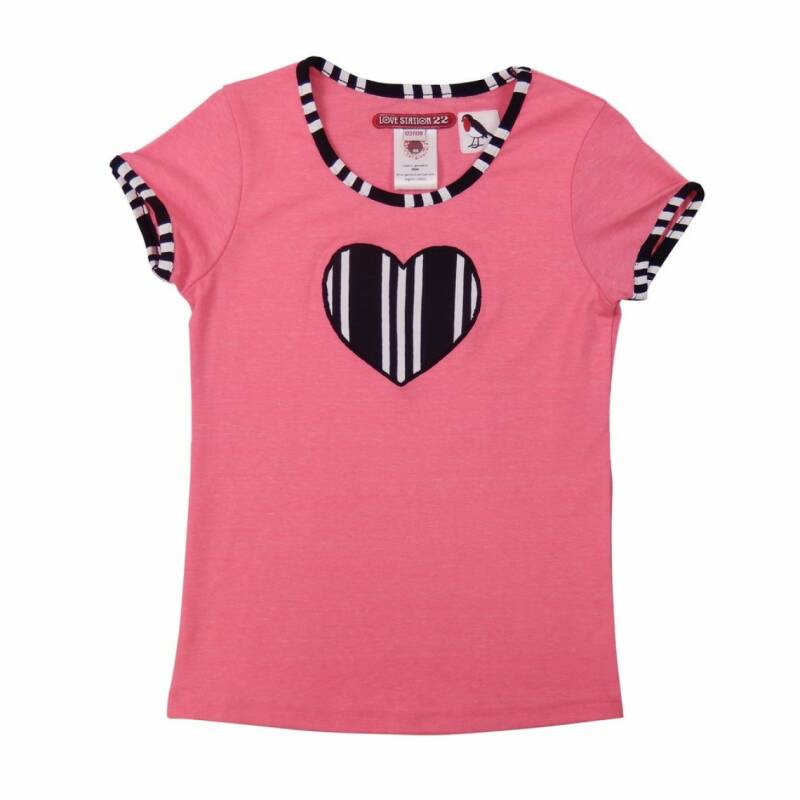 Love Station22 Top Liv - Neon pink