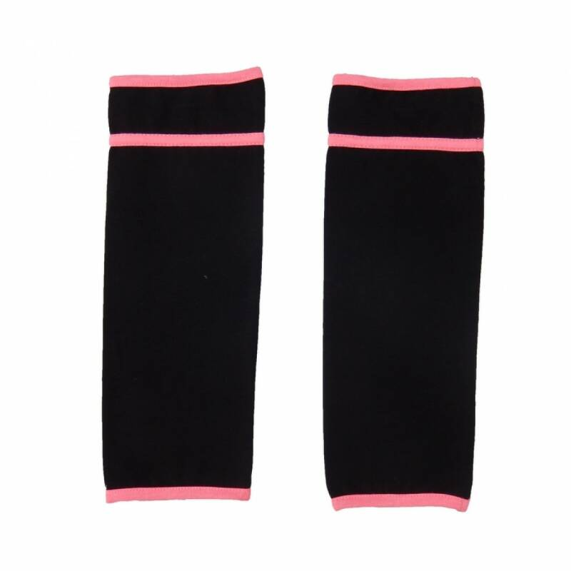 Love Station22 Trendy Sox neon pink & black
