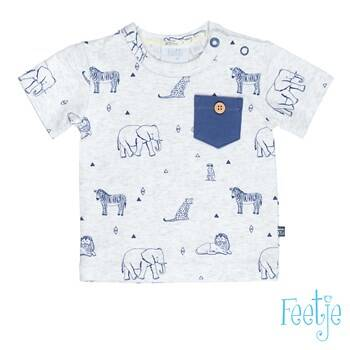 Feetje T-shirt k/m AOP Wild and Free