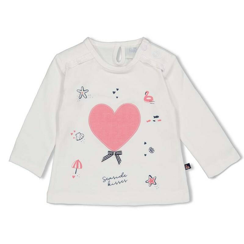 Feetje LONGSLEEVE AOP - SEASIDE KISSES