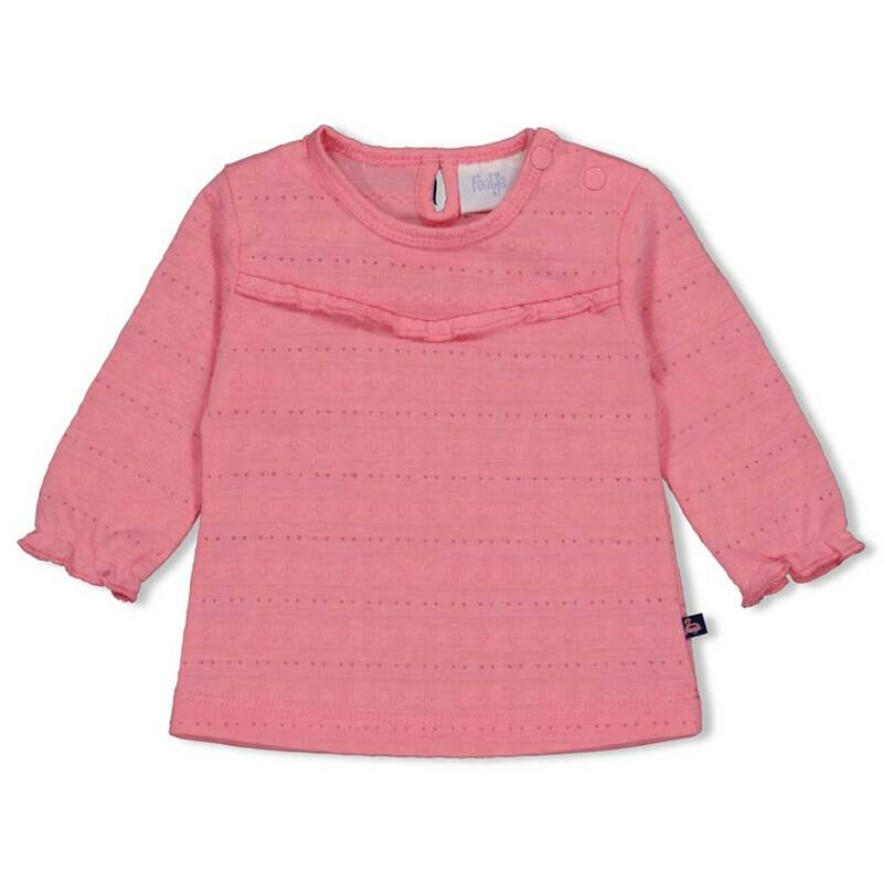Feetje LONGSLEEVE AOP - SEASIDE KISSES PINK
