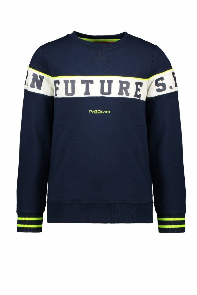Tygo & Vito Sweater Future Navy