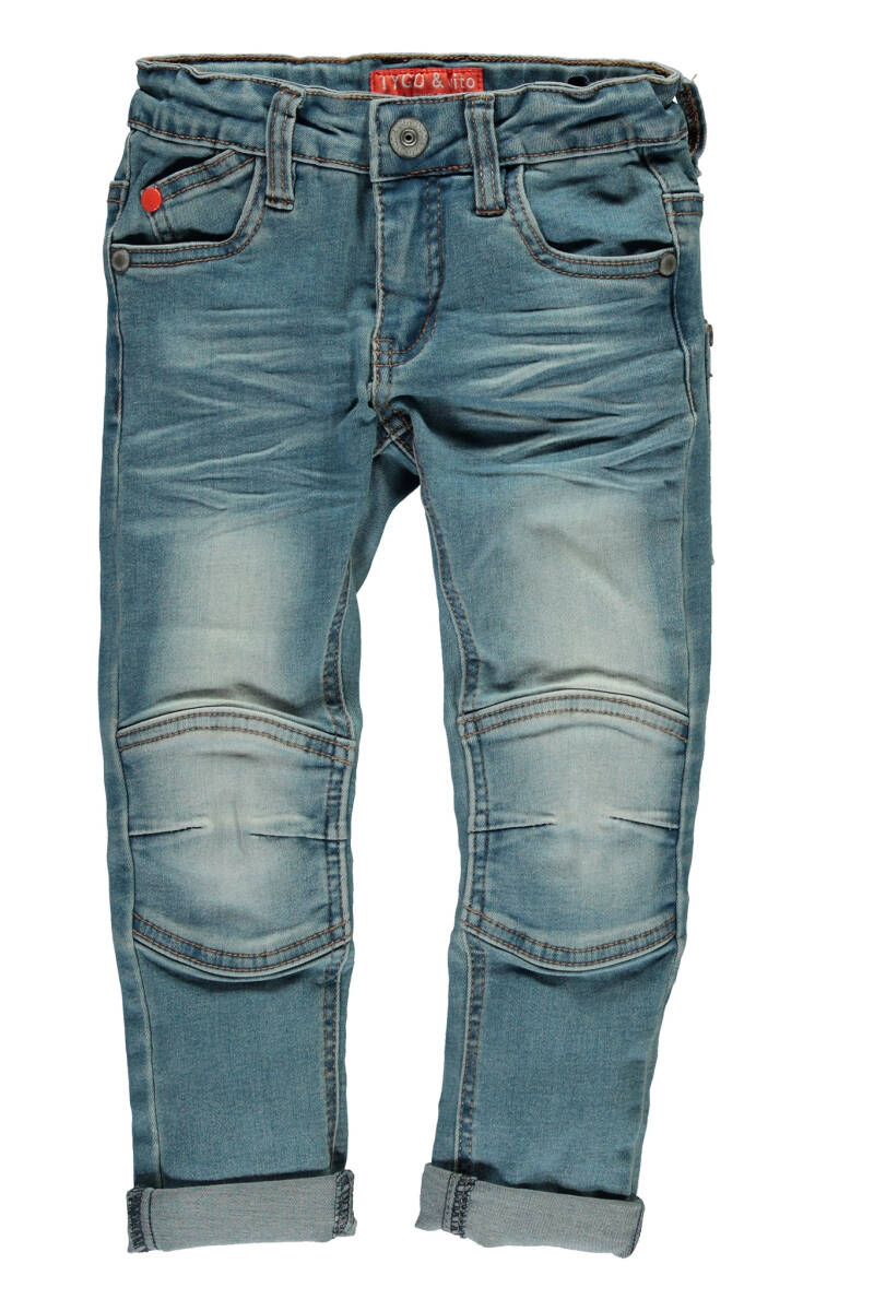 Tygo&Vito T&v fancy jeans kneepatches  801 - l.used
