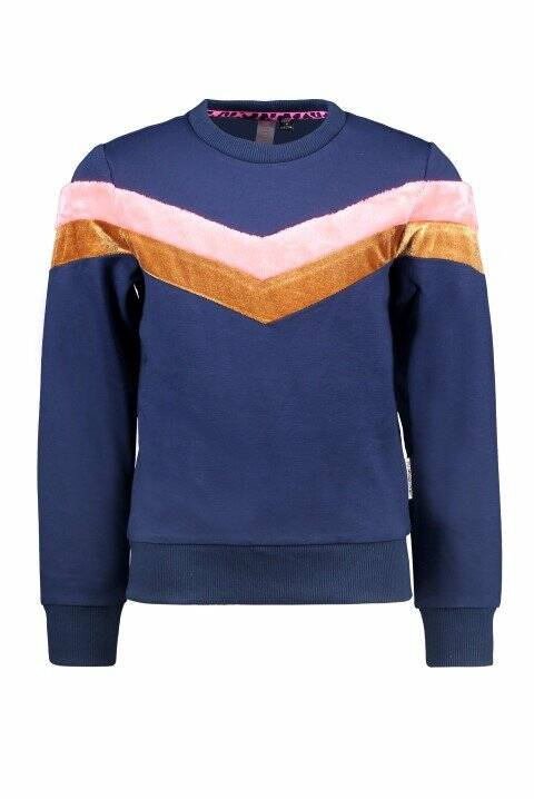 B.Nosy Girls Sweater Space Blue