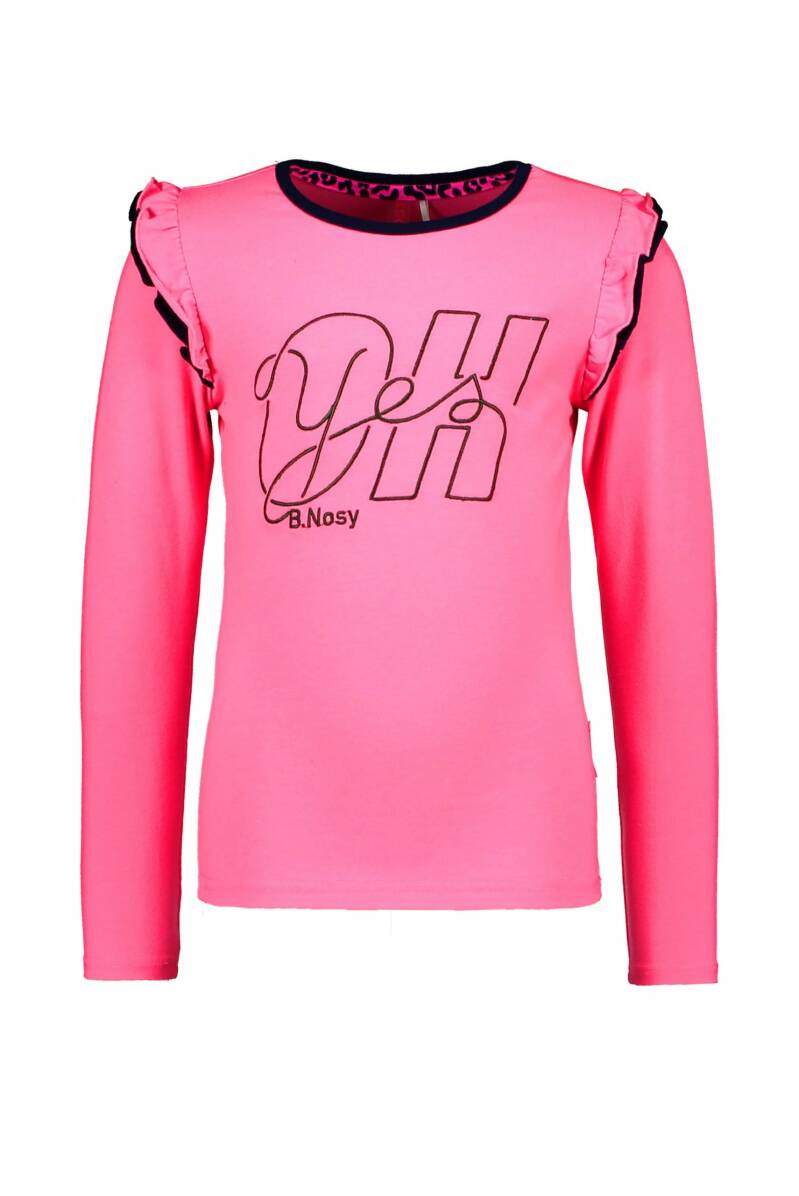 B.Nosy Girls Longsleeve Knock Out Pink