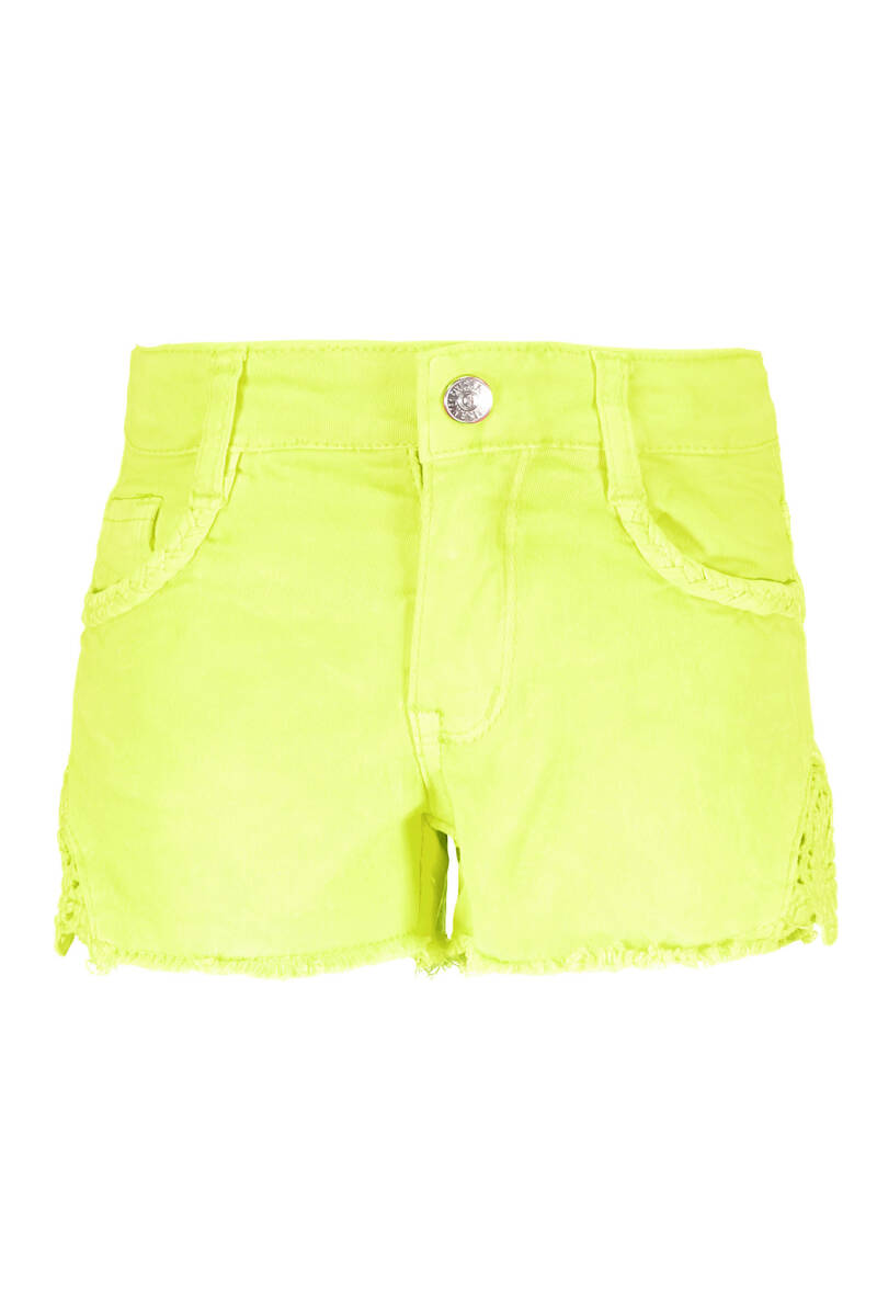 B Nosy Girls short pants with lace on sides