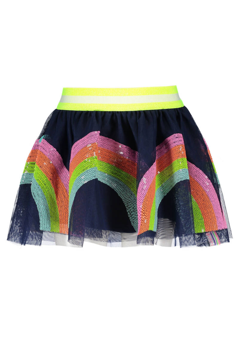 B Nosy Girls netting skirt with sequinces