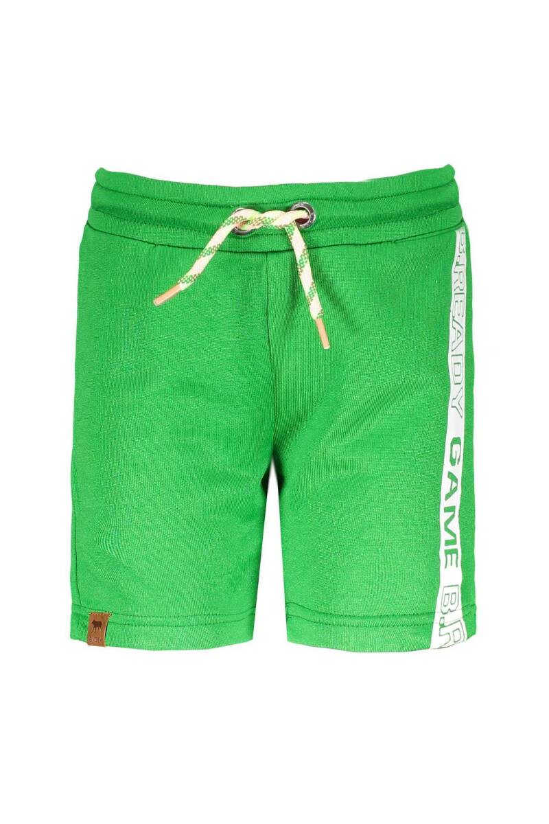 B Nosy Boys short pants with print on side  343 - Grass green