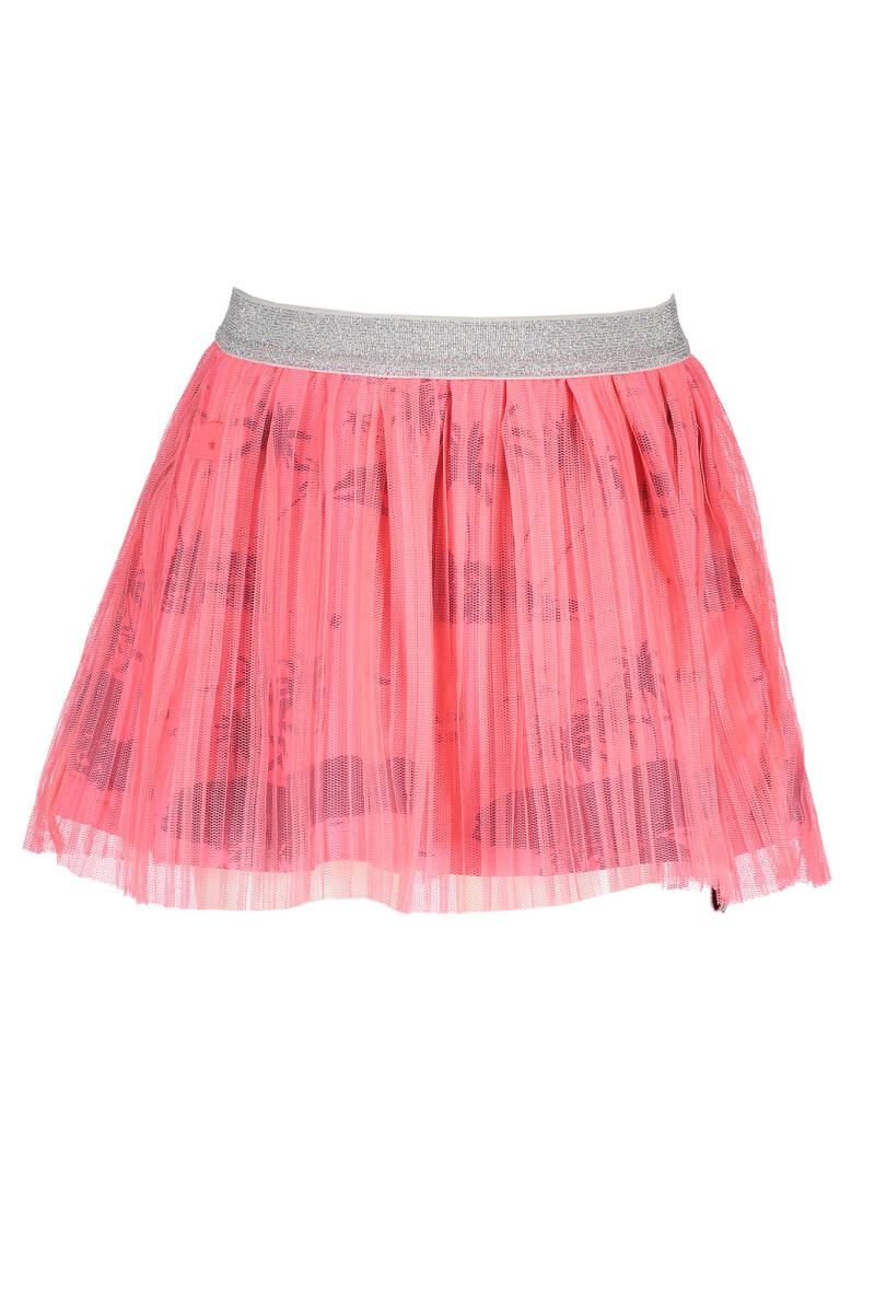 B Nosy Girls skirt with netting plissee  286 - Candy