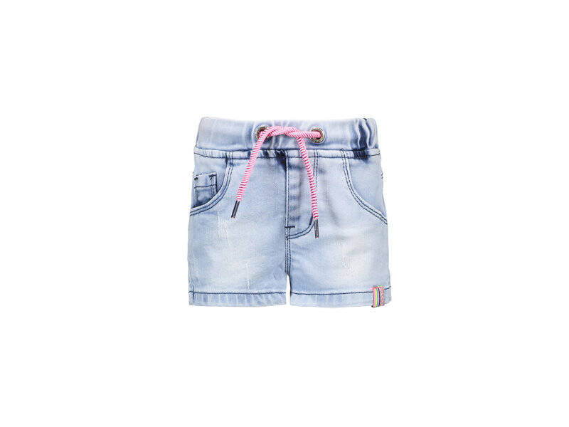 B Nosy Baby short - Light denim