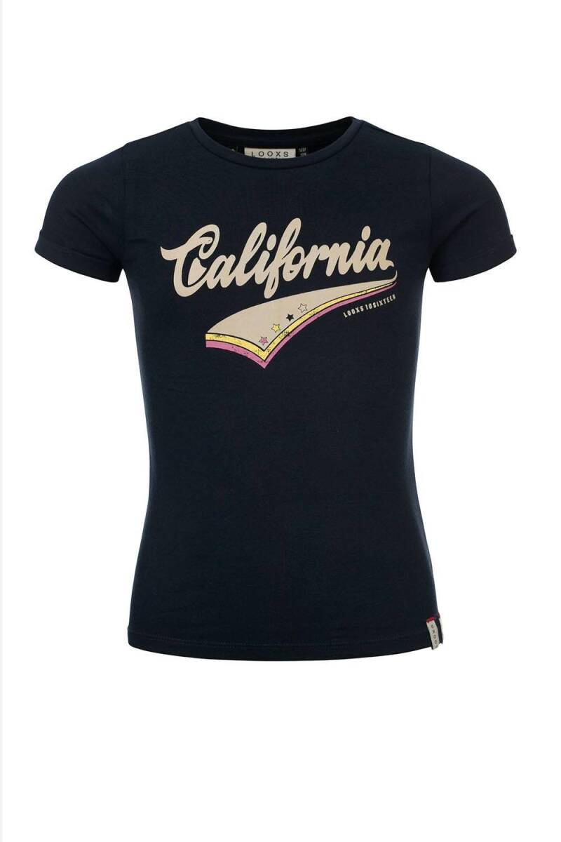 LOOXS 10sixteen Navy T-shirt California