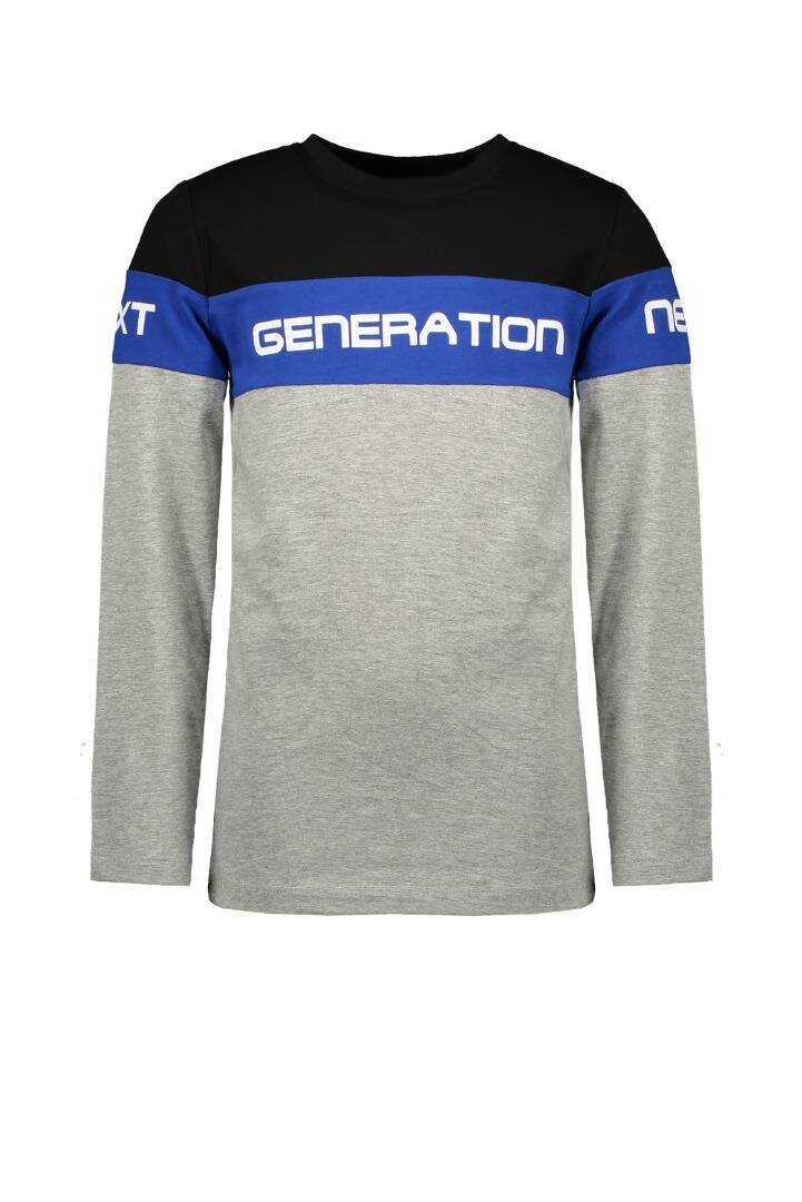 TYGO&Vito Longsleeve Next Generation Dark Grey Melee