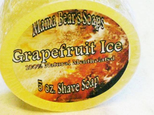 Mamma Bear Grapefruit Ice scheerzeep 150 gram