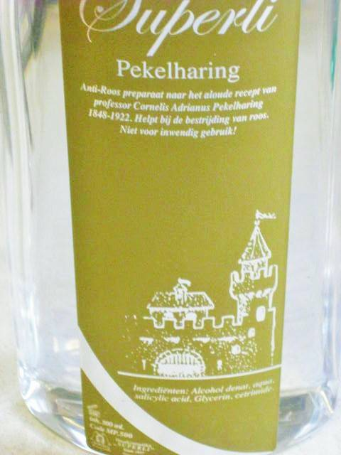 "Superli ""Pekelharing"" anti roos preperaat 500ml"