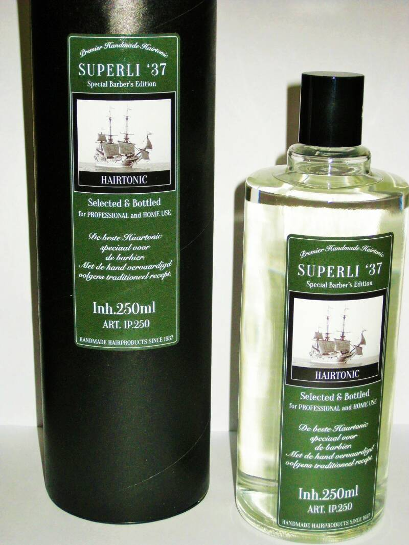 Superli 37 Premier Vintage Hairtonic 250ml-Special Barbers Edition