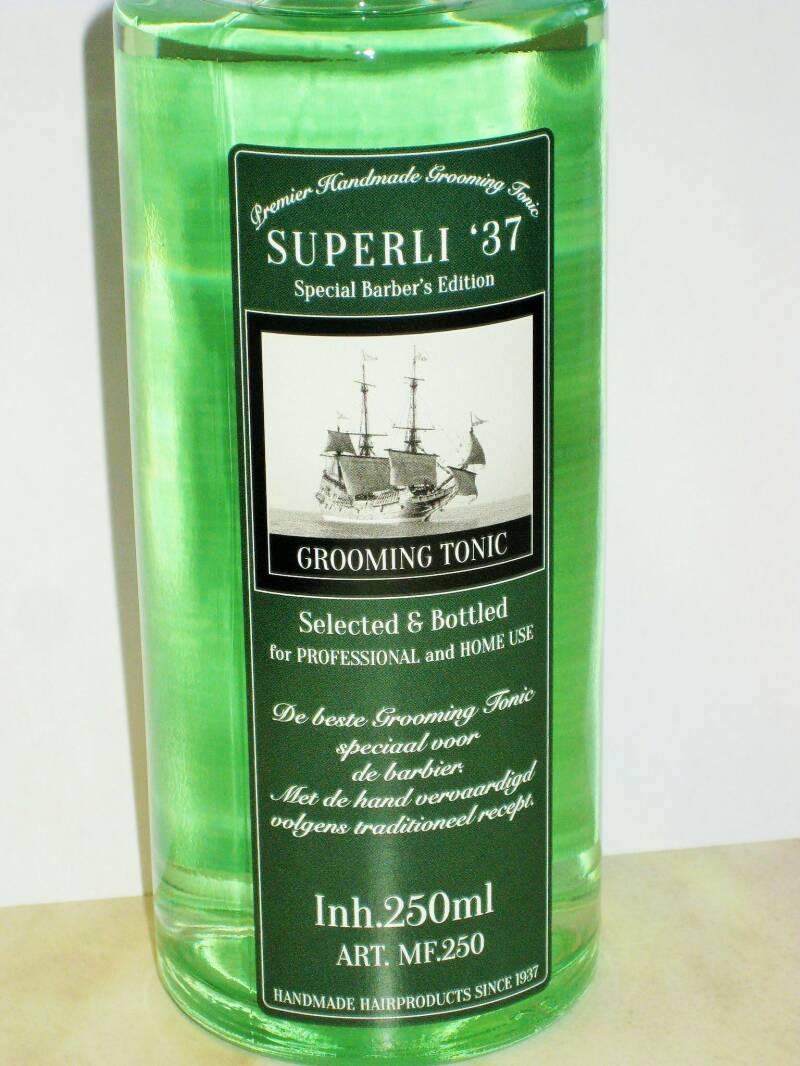 Superli 37 Special Barbers Edition Premier Grooming Tonic -250ml