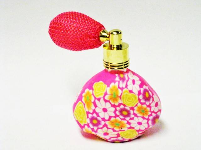 Parfum verstuiver Flower Power met bal 15ml-No.2