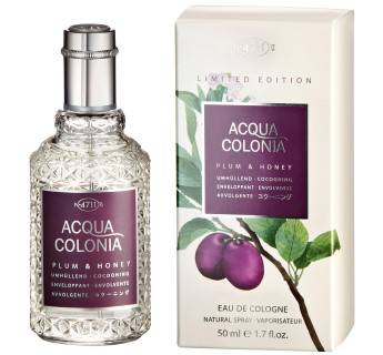 4711 Plum & Honey cologne spray 50ml-Dames&Heren.