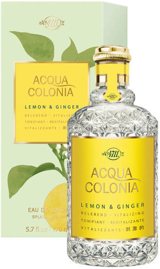 4711 Acqua Colonia Lemon&Ginger Cologne spray.170ml-Dames&Heren.
