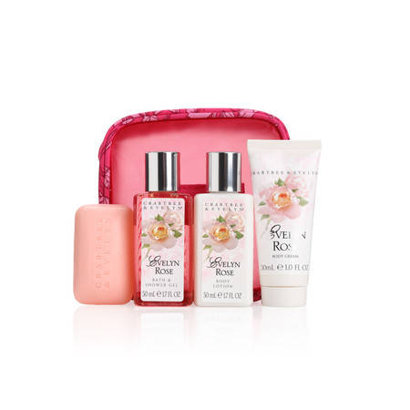 Crabtree & Evelyn rose set 4 delig