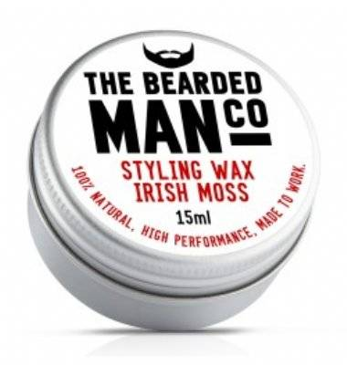 Bearded Man Irish Moss Snorrenwax 15ml.