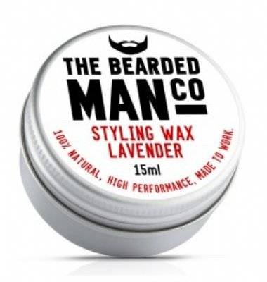 Bearded Man Lavender Snorrenwax 15ml.