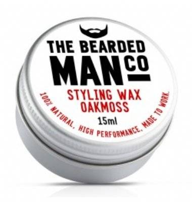 Bearded Man Oak Moss Snorrenwax 15ml