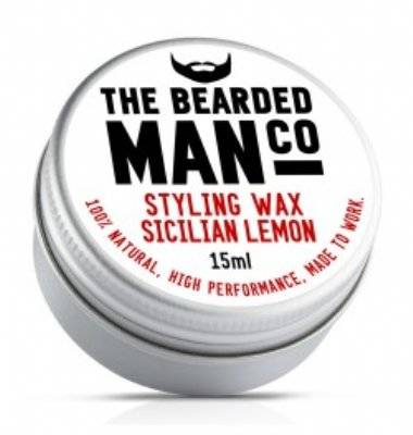 Bearded Man Sicilian Lemon Snorrenwax 15 ml.