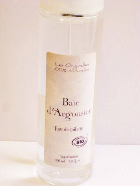 Provence&Nature Biologische Baie d,Argousier Eau de Toilette Spray 100ml
