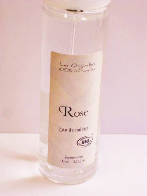 Provence&Nature Biologische Rose Eau de Toilette Spray-100ml