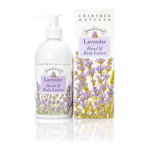 Crabtree&Evelyn Lavendel Hand&Body lotion met pomp-250ml
