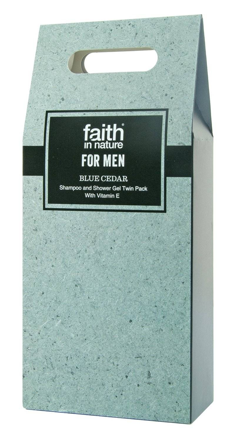 Faith in Nature Blue Cedar Shampo&Douchegel Giftbox 2 x 250ml