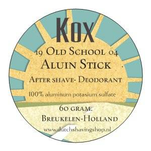 Kox Old School Aluin Stick After Shave-Deodorant-60 gram