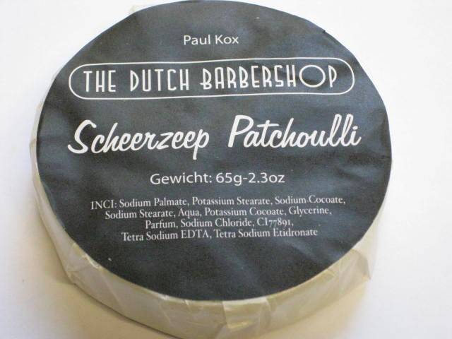 Dutch Barbershop Patchouli Scheerzeep vulling-65 gram