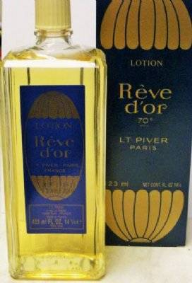 L.t Piver LOTION(Eau de Toilette) REVE DO,R 423 ml-70% volume